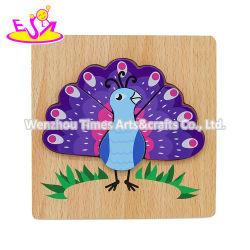 Personalizar la madera preciosa Peacock Rompecabezas para Niños W14D139