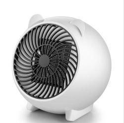 2020 Venta caliente calefacción ventilador de 500w Calentador Mini portátil Ventilador con calentadores eléctricos de cerámica de elemento de calentamiento PTC