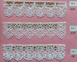 Декоративные кружевной ткани обивки Свадебный день рождения Рождество товаров швейных судов