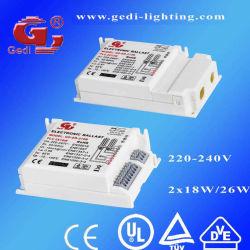 18W Fluorescent Ballast für PLC Fluorescent Lamps, Electronic Ballast