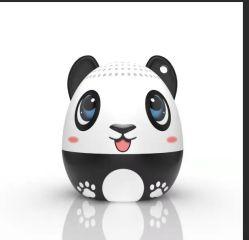 Outdoor Mini Pet áudio sem fio portáteis animais de desenhos animados para alto-falante Phone-Panda móvel inteligente