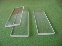 明確なホウケイ酸塩のガラス板をカスタマイズしなさい