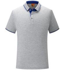 Van het Katoenen van het Borduurwerk van het Overhemd van het Polo van de nieuwe Mensen van het Embleem van de Douane de Toevallige Levering voor doorverkoop van de Hoeveelheid van de Koker van de Mensen Overhemd van het Polo Korte Hoge