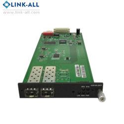 Scheda del convertitore di media di UC6100-2SFP 3.2g SFP con la porta di LAN/Wan