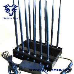 12-band GSM GPS van DCS Rebolabile 3G 4G WiFi de SatellietAuto van de Telefoon Verre Stoorzender (315-433-868 Mhz)