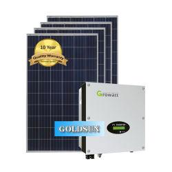 Горячая продажа 5000W Grid связаны солнечной энергии станции по-Grid 5 Квт для домашнего использования солнечной энергии растений генератор солнечной энергии