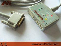 Совместимость Philips 10-Lead Просто получить актуальную ЭКГ магистральный кабель