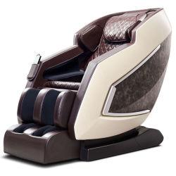 도매 호화스러운 전기 가득 차있는 바디 Shiatsu 3D 무중력 Recliner SL 궤도 뒤 팔 다리 발 사무실 소파 안마 의자