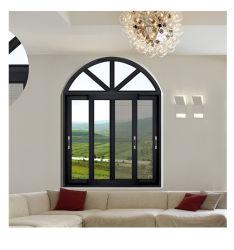 カスタムアルミニウム合金の防弾窓の Burglar の証拠防熱絶縁音の絶縁強化ガラスのスライド式窓