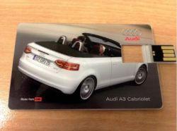 الشركة الهدايا اصنع شعار DIY ورق ملصقات بطاقة العمل محرك فلاش رقاقة بطاقة USB شفافة