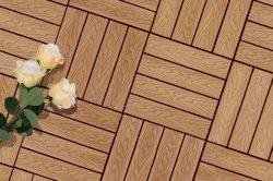 DIY WPC Tuile de pont de bois composite en plastique