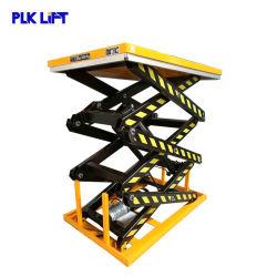 1-4m de la tijera hidráulica eléctrica estacionaria la mesa de elevación para la venta