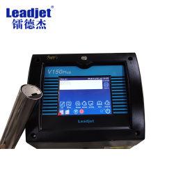 China máquina de Codificação de Lote contínuo do fabricante da impressora a jato de tinta imprimir Data de Expiração