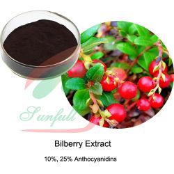 Bilberry Anthocyanidins фрукты ИЗВЛЕЧЕНИЯ РАСТЕНИЙ