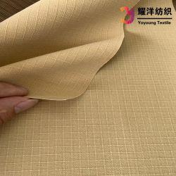 Tessuto a doppio foglio impermeabile della tela di canapa di colore TC Ripstop per la tenda