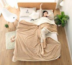 Зимний обычная шерпа одеяло / мягкие кровати