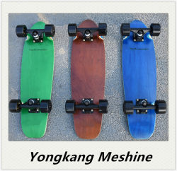 Los niños de 4 ruedas OEM Adultos Niños de madera de Maple Skate Skateboard
