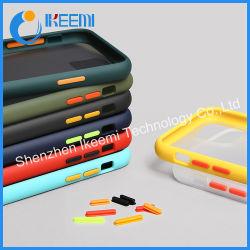 Kontrast-Farben-Telefon-Kasten für Samsung-Galaxie iPhone Huawei Handy-Fall