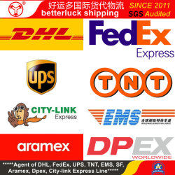 De Kongo de Democratische Republiek van agent van de dienstChina DHL UPS Fedex van de Koerier van Lubumbashi de Uitdrukkelijke