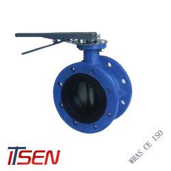 DIN/ANSI/API extremo de la brida doble/triple concéntricos excéntrica la válvula de mariposa para la palanca/Wormgear/eléctrica/Penumatic/hidráulica
