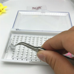 Crear su propia marca Etiqueta Cliente 3D de pestañas de visón de embalaje caja