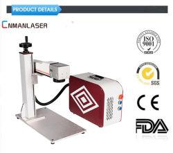 Laser die van de Optische Vezel van Co2 van de Pijp Meta/PVC/PPR/HDPE van /20W/ 30W /50W /YAG/ van Raycus 10W de Roterende 3D Mini Draagbare Machine merken