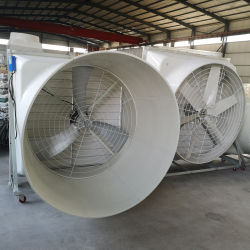 Grande ventilatore del cono di vetro di fibra del flusso d'aria di Fubo per il workshop industriale