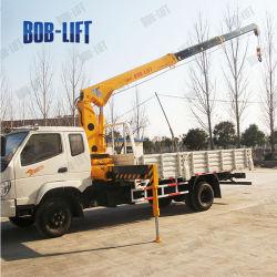 La ISO del Ce certifica la grúa montada carro telescópico hidráulico de la grúa del auge