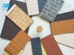Padrões de tijolo fino relevo Placa na Parede do tipo sanduíche de poliuretano com painéis e características decorativas