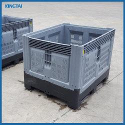 حاوية منصة قابلة للطي قابلة للطي لصناديق التخزين البلاستيكية للخضار
