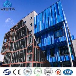 Económico modular de bajo coste mayorista Mobile Panel de pared tipo sándwich Estructura de Acero Metal ligero industriales prefabricadas Hotel Comercial Oficina edificio escolar