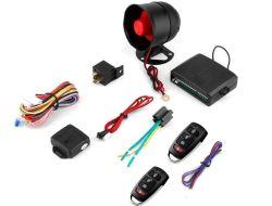 Alquiler de la entrada sin llave remoto de alarma del sistema de alarma de coche alarma de coche en caliente con control electrónico / la opción de bloqueo de la puerta de neumáticos