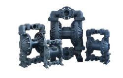 Rd80 3 pouces de pompe à diaphragme pneumatique en alliage en aluminium résistant aux produits chimiques industriels Pompes à diaphragme de l'eau