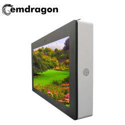 Aufgeteilter Bildschirm LCD 55 Zoll-luftgekühlte horizontale Bildschirm-Wand, die im Freienbekanntmachenmaschineled Digital Signage-im Freienbekanntmachenspieler LCD-Bildschirm hängt