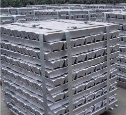 Prix bon marché lingots d'aluminium lingot AL de 99,7 % avec une haute qualité