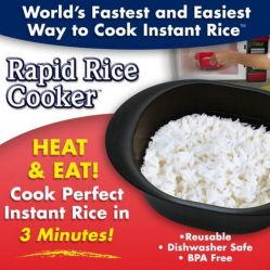 Kooktoestel van de Rijst van de Kom van de Noedel van de Kom van de Rijst van de microgolf het Snelle