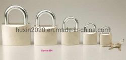 قفل معدني مزوَّد بألواح من الكروم GS0064، وقفل من الحديد عالي الجودة، وقفل من ألواح بارزة مطلية بالكروم وممرر ISO9001، وقفل