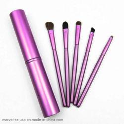 5PCS поездки Мини-комплект щеток для макияжа глаз щетки для бровей составляют щетки