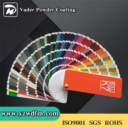 Ral colora i rivestimenti dell'interno o esterni della polvere per i prodotti metalliferi