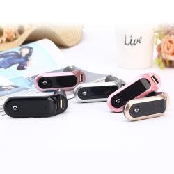 En voiture lecteur MP3 S7 avec Bluetooth mains l'appelant et deux chargeurs de voiture de sortie max. de 5 V/2.1A