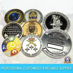 Professional пользовательские металлических художественных ремесел 2D/3D старого золота военной медали эмаль имя Engrave сувенирные монеты с дизайном (CO23-C)