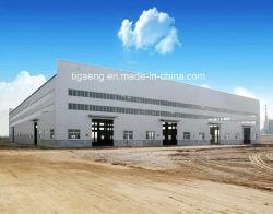 Die große Schuppen-Stahlkonstruktion-Huhn-Bauunternehmen-Entwurfs-Geflügel-Landwirtschaft verschüttete