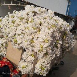 Fiore artificiale di seta del fiore di ciliegia di alta qualità per la decorazione di cerimonia nuziale