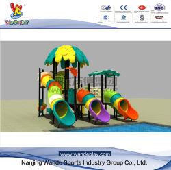 De plastic Apparatuur van de Speelplaats van de Kinderen van het Pretpark van de Dia van de Jonge geitjes van het Stuk speelgoed Openlucht