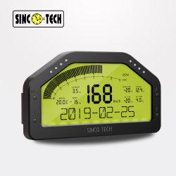 Fazer908 Sinco Tech Dash Corrida Kit de sensor do monitor de LCD do painel de Chicote, medidor de nível