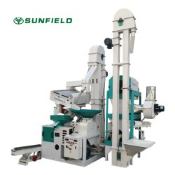 ماكينة المعالجة التجارية Auto Small Rice Mill Agro Machine