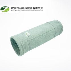 물과 기름 냉담한 폴리에스테 공기 정화 장치 수집가를 위한 폴리에스테 털실을%s 가진 정전기 방지 여과 백