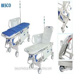 Manual de altura ajustável e maca de Transferência de emergência (BES-HB066A)
