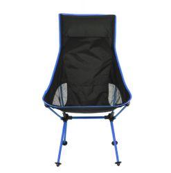 옥외 하이킹 여행 픽크닉 BBQ 바닷가 어업을%s 부대를 가진 휴대용 Ultralight 접을 수 있는 달 여가 간편 의자