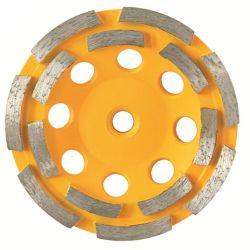 عجلة طحن كأس مزدوج الماسي مبلل أو جاف باستخدام حز M14 للأحجار الخرسانية من الرخام الجرانيت